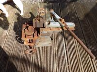 old metal working tool was told it was for bending body panels ? open to offers