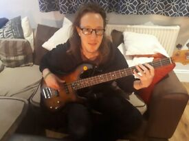 Bass tutor looking for students