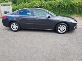 2012 Peugeot 508 1.6 e-HDi Access EGC (s/s) 4dr Auto+PCO+Registered+Uber+Registered @07445775115
