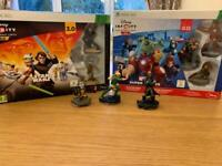 Xbox 360 Disney Infinity Marvel heroes & Star Wars