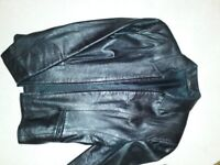 Leather Jacket from Marks & Spencer Size 8