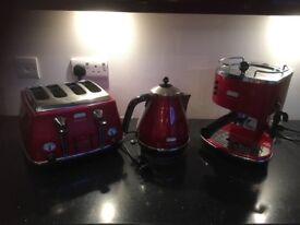 Kettle/coffee machine/toaster