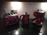 Kettle/coffee machine/toaster