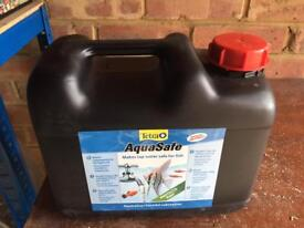 Tetra Aquasafe 5L can for Aquarium Fish Tank