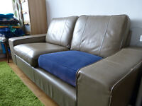 Leather sofa in good condition for sale at very low price