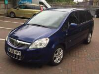 2010 Vauxhall Zafira 1.6 93000 miles Full Service History.7 Seater, 1 Owner