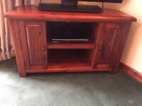 REAL WOOD TV/VIDEO CABINET