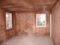 will plaster any room for £250 materials included in price