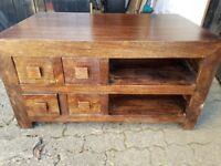 Great solid wood TV stand