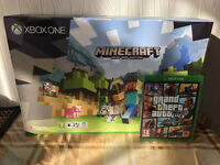 XBOX ONE S WHITE 500GB - MINCRAFT GAME BUNDLE - BRAND NEW & SEALED