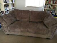 NOW SOLD! REDUCED! Sofabed and matching sofa DFS