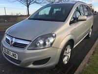 7 Seater Vauxhall Zafira Exclusive 1.8