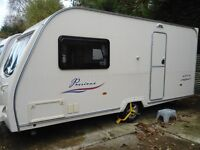 Avondale Passione 2 Berth Caravan With 3/4 Awning