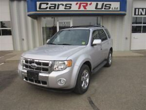 2010 Ford Escape LIMITED 4WD, 82 KM, LOADED, SUNROOF