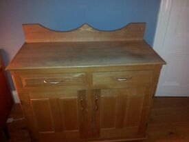 Large solid beech sideboard for sale £200 o.n.o.