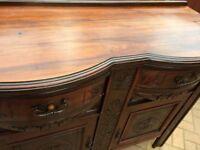 Beautiful Solid Wood Ornate Sideboard
