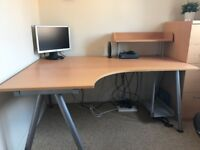 Ikea GALANT Corner Desk - Home or Office - Excellent Condition