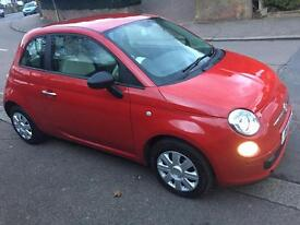 Fiat 500 pop 1.2 2011 69,000 miles MOT