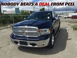 2015 Ram 1500 Demo LAramie, Crew Cab Only $36,995