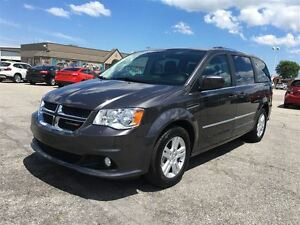 2016 Dodge Grand Caravan Crew Plus/CARPROOF CLEAN/
