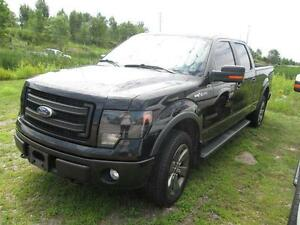 "2013 Ford F-150 4WD SuperCab 145"" FX"