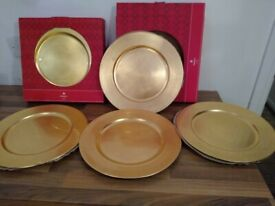 Charger plates - Set of 8