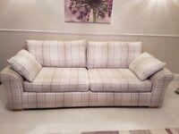 NEXT xlarge sofa, snuggle seat and storage footstool