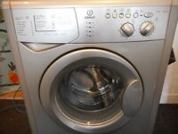 INDESIT 6KG/1400 WASHER**GRAPHITE**LIKE NEW**