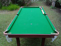6x3ft Pool/Snooker table