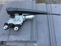 2011 VW Polo rear wiper motor with arm & blade