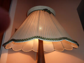 Extra large Vintage Ribbon Lampshade or Lightshade