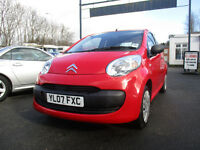2007 citroen c1 3 door low miles only 18000 nice car clean in side and out only £20 road tax a year