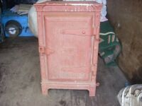 old gas oven (unusual). heavy cast £50.