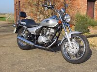 2007 Kawasaki Eliminator BN 125. Outstanding 'as new' condition with just 3,600 miles.