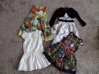 GIRLS DRESSES x 4. AGE 5.