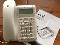BT Decor 2200 Corded Desk Telephone