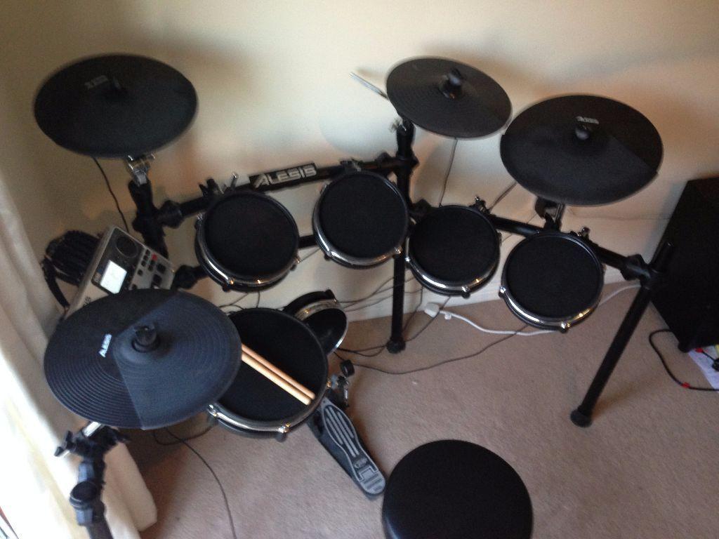 alesis dm10 studio drum kit six piece electronic drum kit with