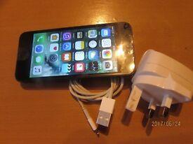 Apple iphone 5-16GB black& slate grey EE,Virgin, t-mobile&Orange locked excellent condition