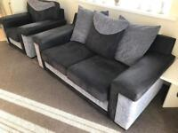 Single and double couch, excellent condition.