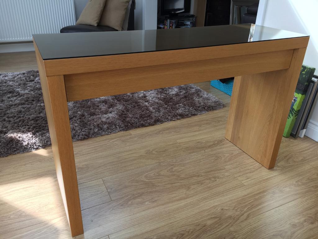 ikea malm desk dressing table in poole dorset gumtree. Black Bedroom Furniture Sets. Home Design Ideas