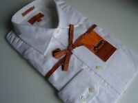 simon carter white formal shirt uk 16.5