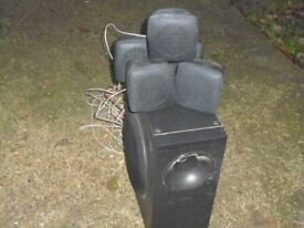 sub woofer & speakers