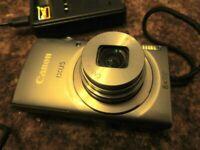 Canon IXUS 160 Digital Camera Kit 20Mp 8X Optical Silver