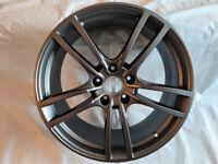 Genuine single 21'' Porsche Cayenne Turbo S alloy wheel E3 9Y0 601 025AD