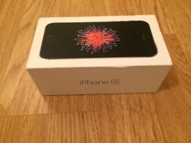 Apple Iphone SE, 128 GB, Space Grey UNLOCKED Excellent Condition with Apple Warranty - PHONE ONLY