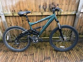 Saracen Arachnid Mens Full Suspension Mountain Bike