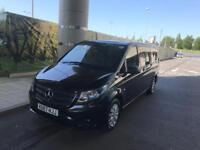 Mercedes Vito Black 9 Seats PCO till 10/2018 £27950