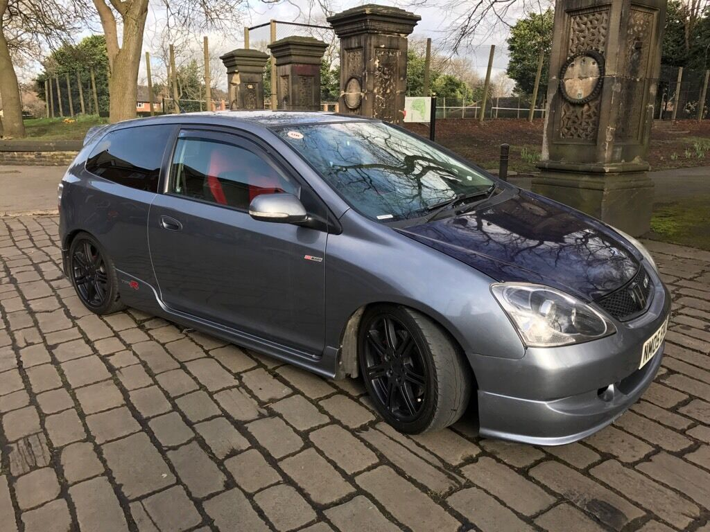 honda civic type r ep3 premier edition 2005 cosmic grey start button hpi clear fsh in. Black Bedroom Furniture Sets. Home Design Ideas