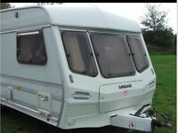 1992 Lunar Planet Jupiter 5 berth caravan.