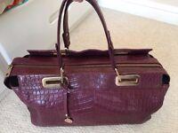 DKNY Lady's Handbag in Burgundy Color RSP£285